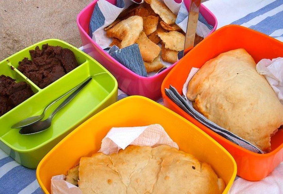 que alimentos llevar a la playa